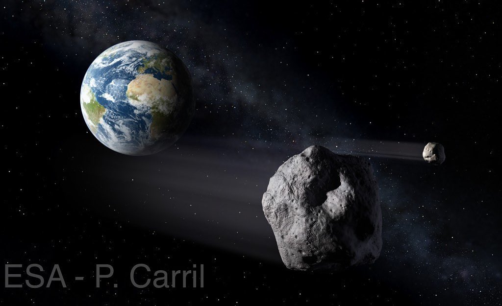 asteroide 2018 vp1