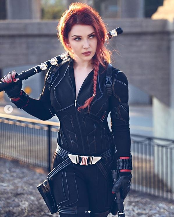 cosplay de black widow