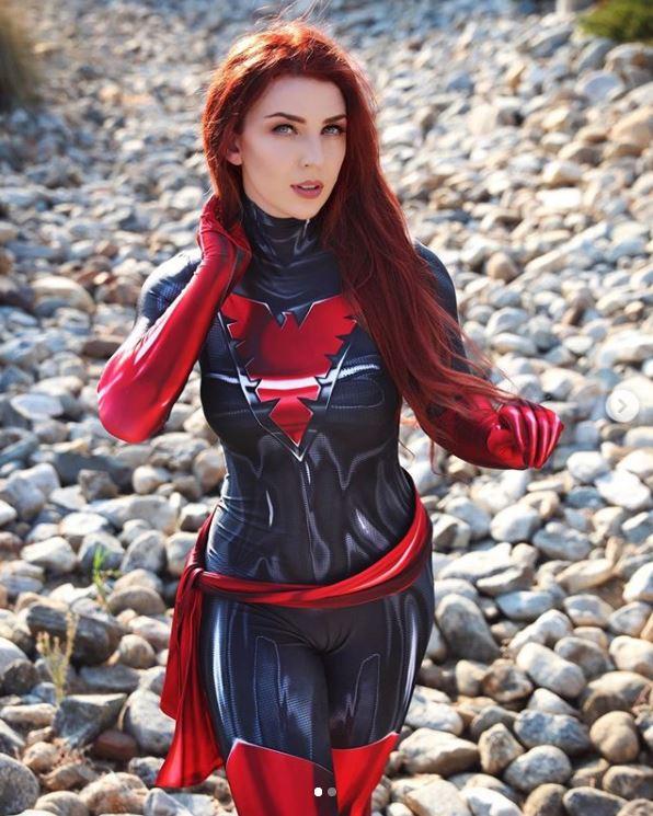 cosplay phoenix jean grey 1