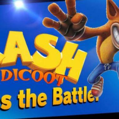 crash bandicoot super smash bros ultimate