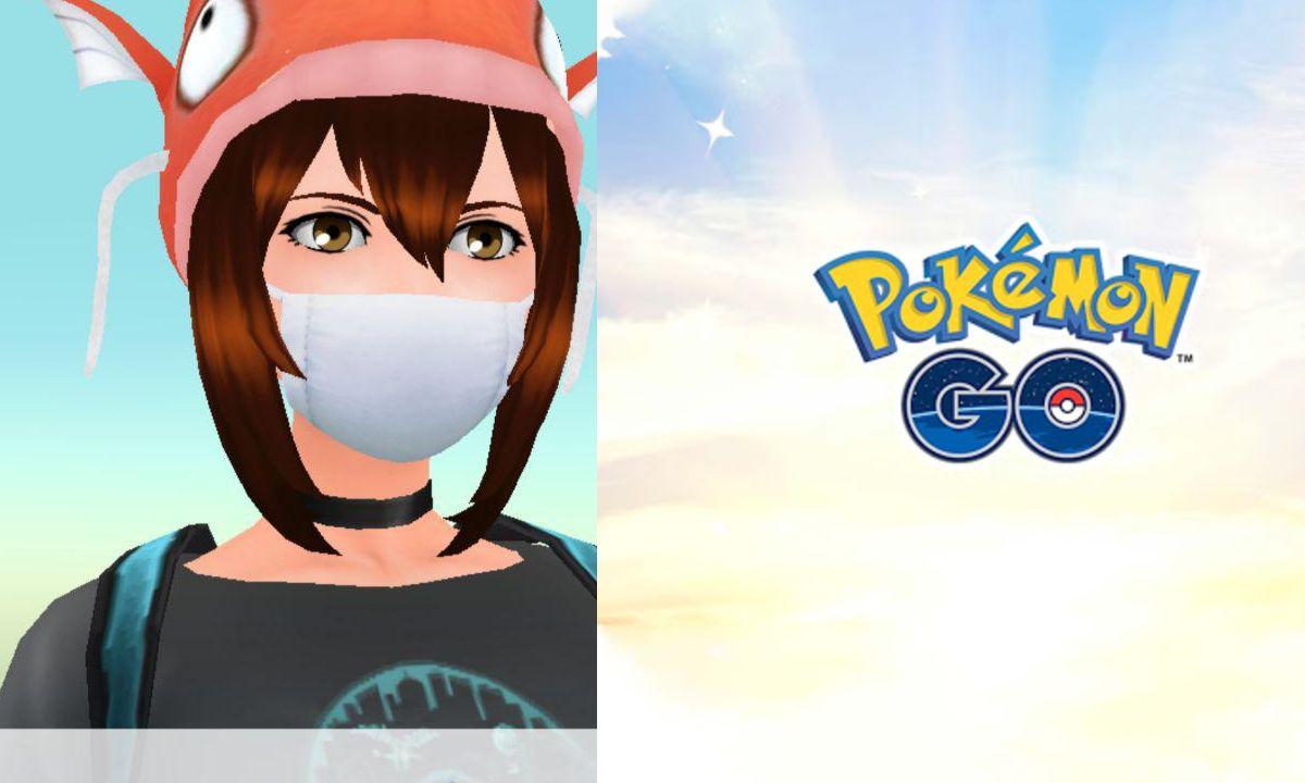 Pokémon GO: ya puedes ponerle cubrebocas a tu avatar