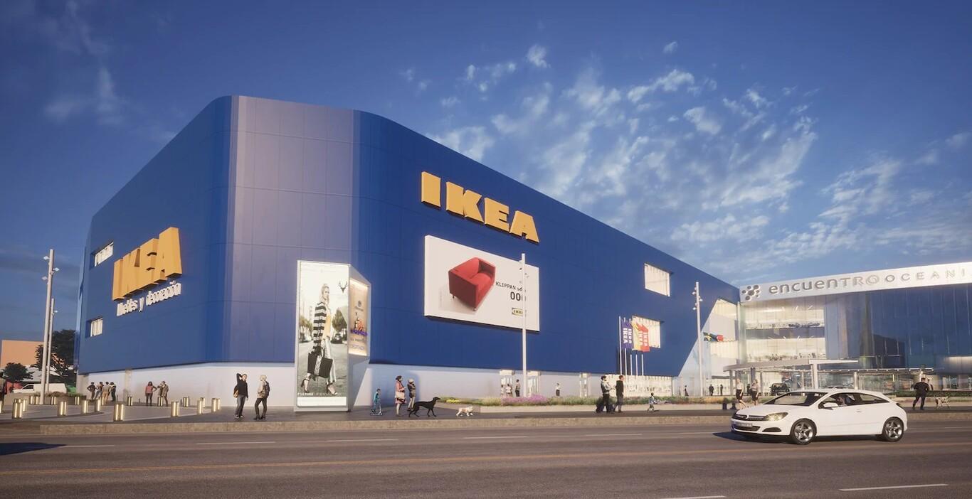 La tienda física de IKEA en Encuentro Oceanía.