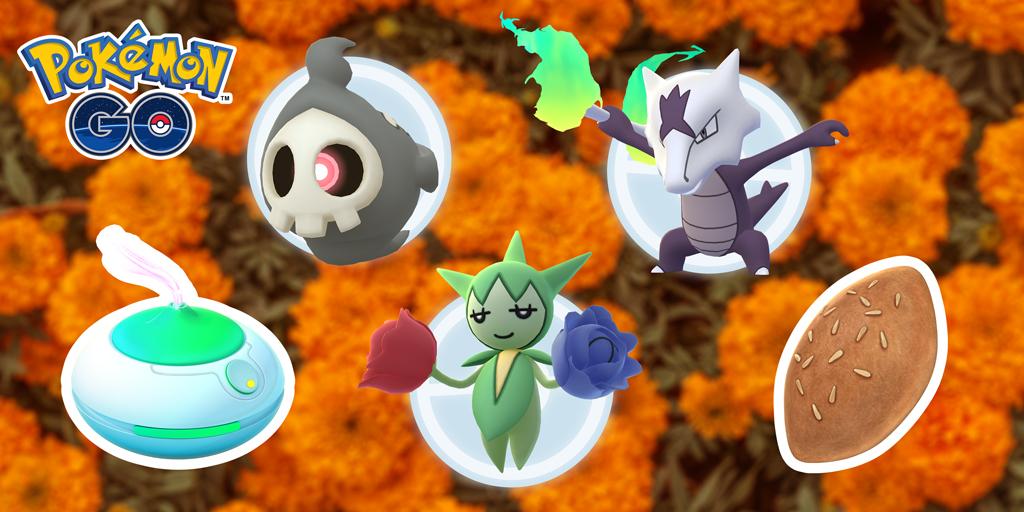 Pokémon GO Día de Muertos