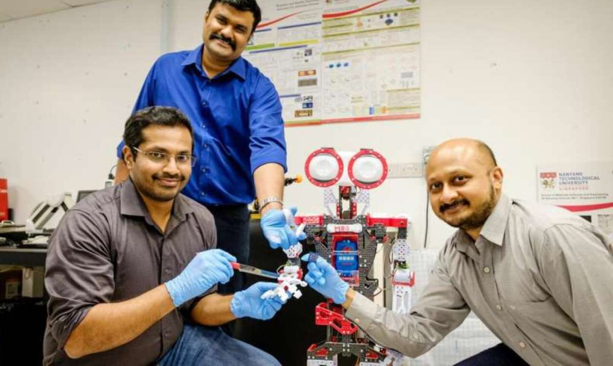 Científicos crean robot que siente dolor
