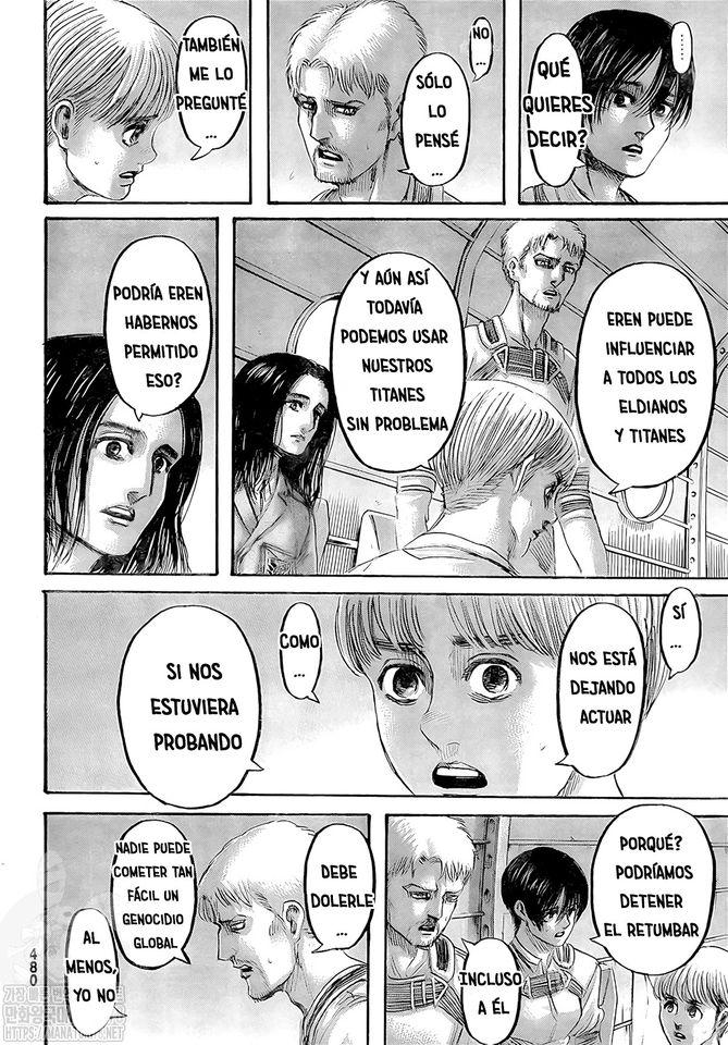 shingeki no kyojin capítulo 133 del manga página 5