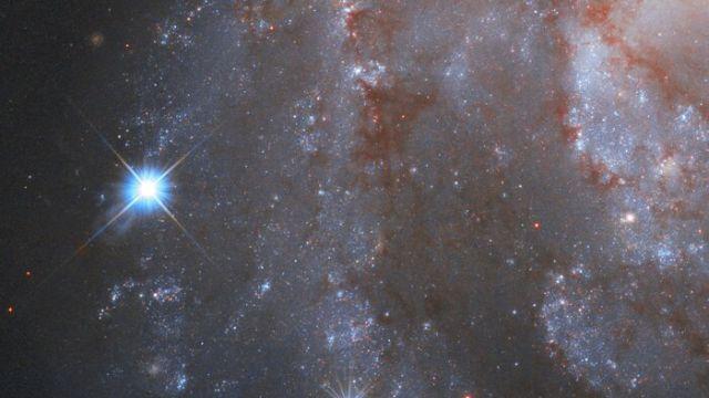 Telescopio Hubble capta espectacular time lapse de una supernova
