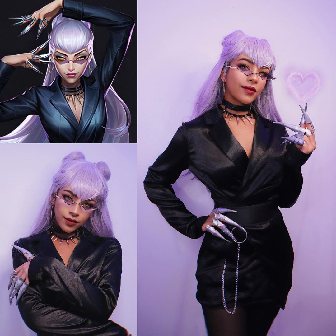 LoL: Chica realiza un increíble cosplay de Evelynn KDA
