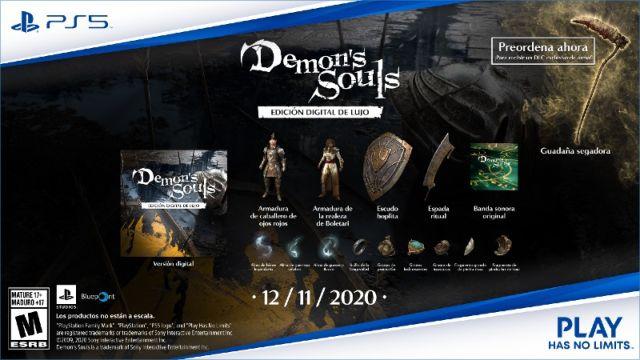 Demon's Souls presenta el tráiler de su remake