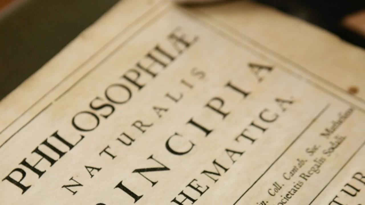Descubren copias originales de Principia