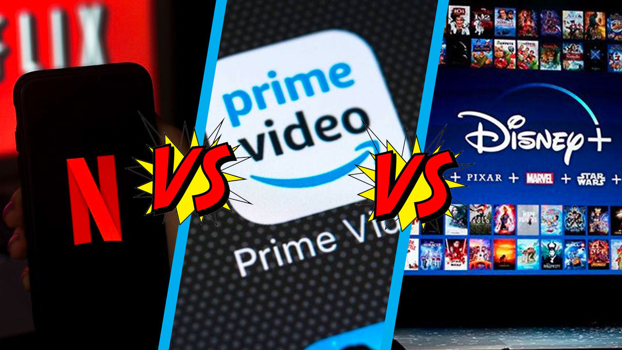 Qué servicio de streaming es mejor Disney Plus Netflix Amazon Prime