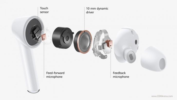 Huawei Freebuds 3i diseño