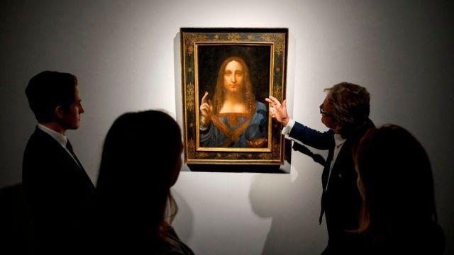 Dibujo de Da Vinci pone en duda Salvator Mundi