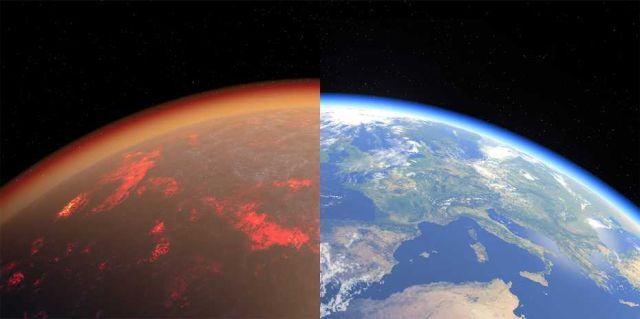 Descubren semejanzas entre la Tierra y Venus