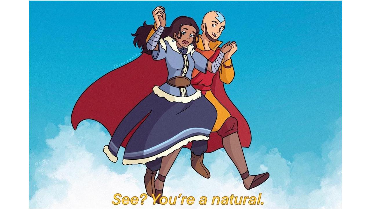 Fanart crea un crossover entre El Castillo Vagabundo y Avatar: La Leyenda de Aang