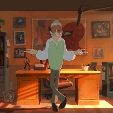 Stan Lee en un Corto Animado