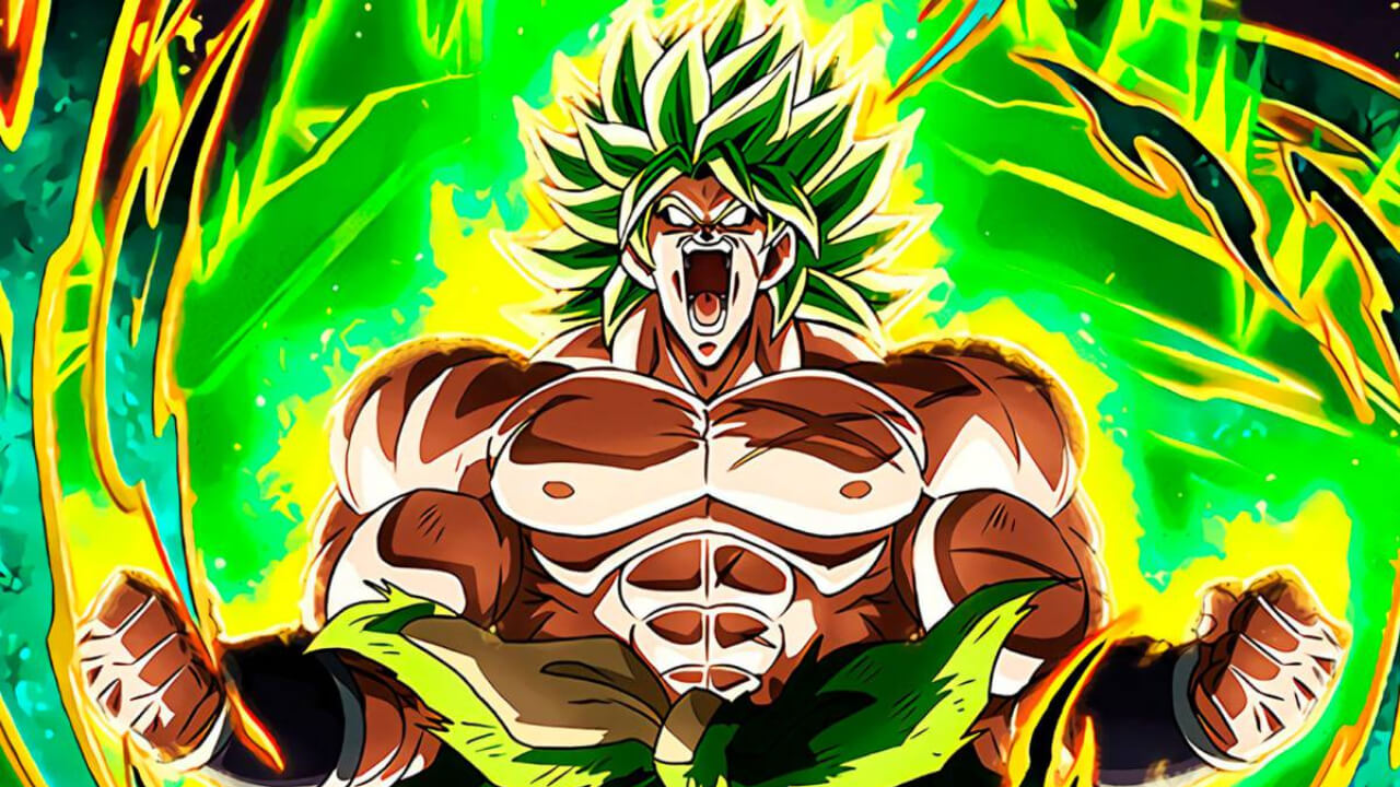 broly dragon ball z