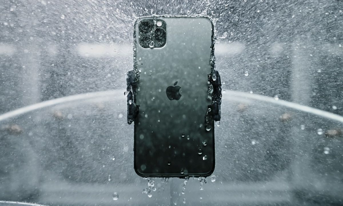 iPhone 11 en prueba de agua