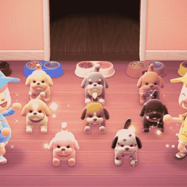 Animal Crossing: ¡Perritos llegan a New Horizons en forma de peluches!