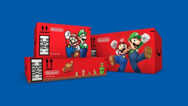 Tus pedidos de Amazon EU podrían llegar en cajas de Super Mario edición limitada
