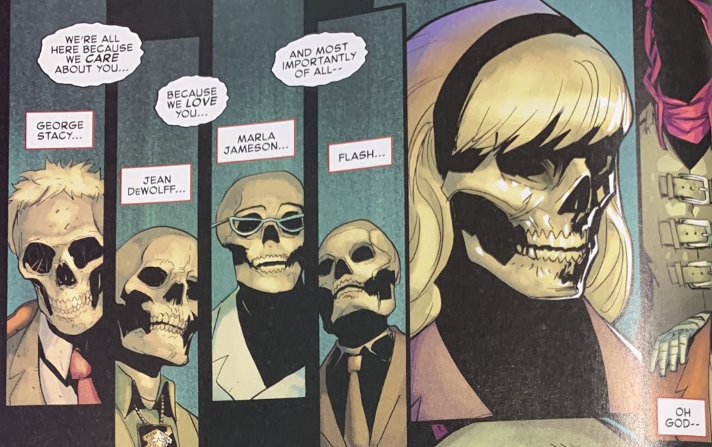the amazing spiderman 52 muertos