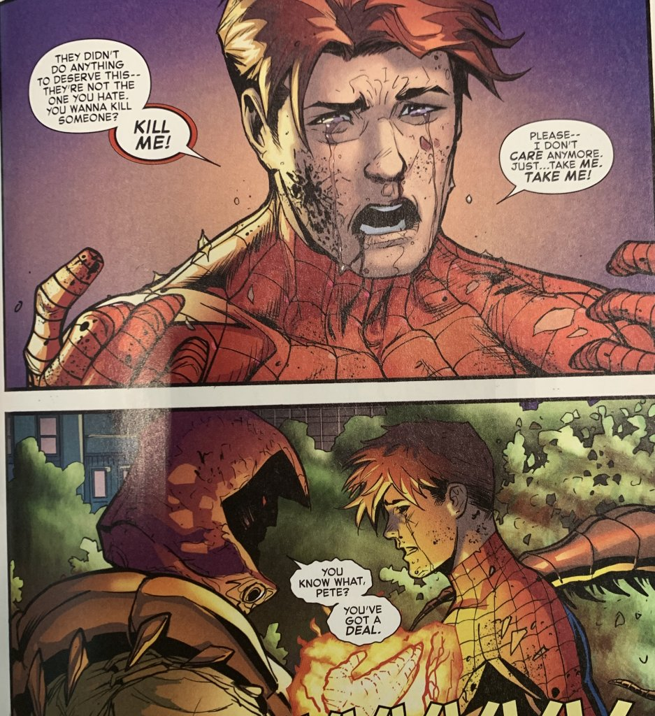 the amazing spiderman 52 peter parker