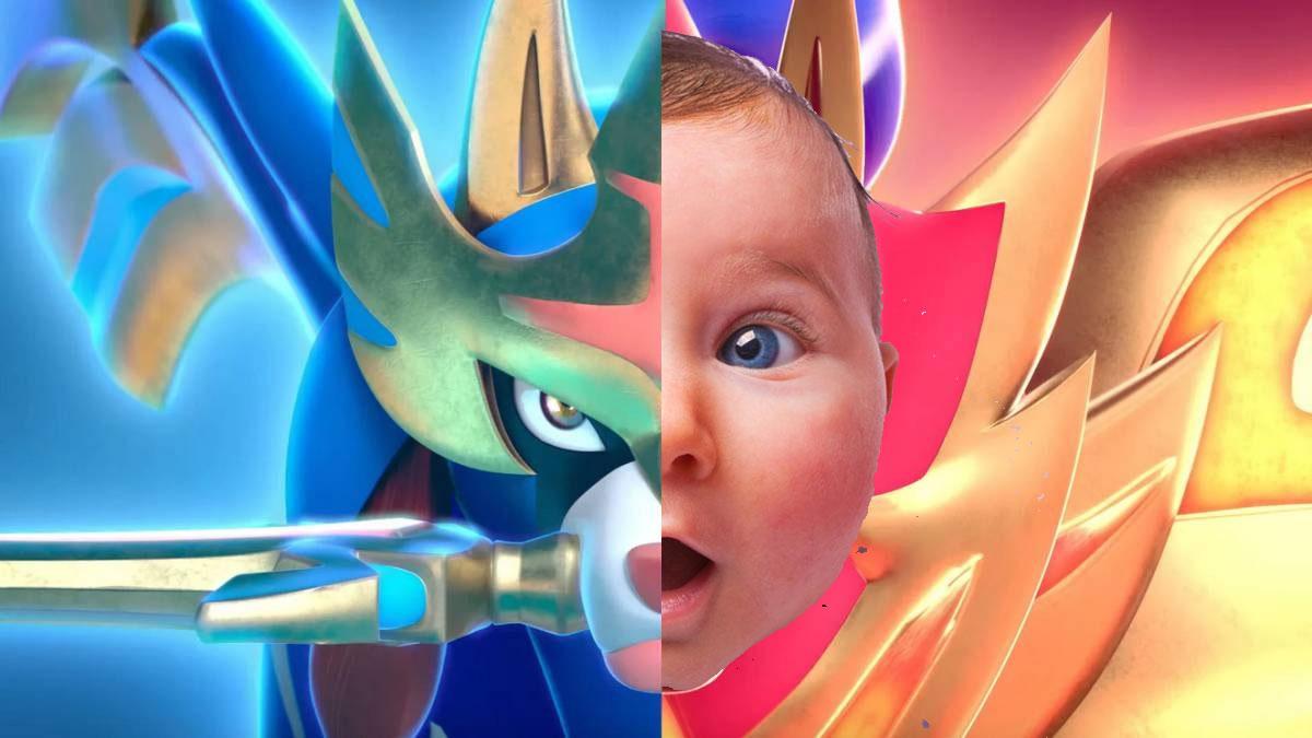 Bebé es nombrado como un Pokémon Legendario Zacian