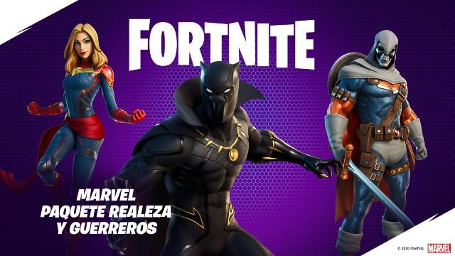 Black Panther ya está en Fortnite