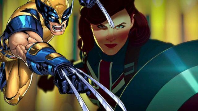 Capitana América y Wolverine