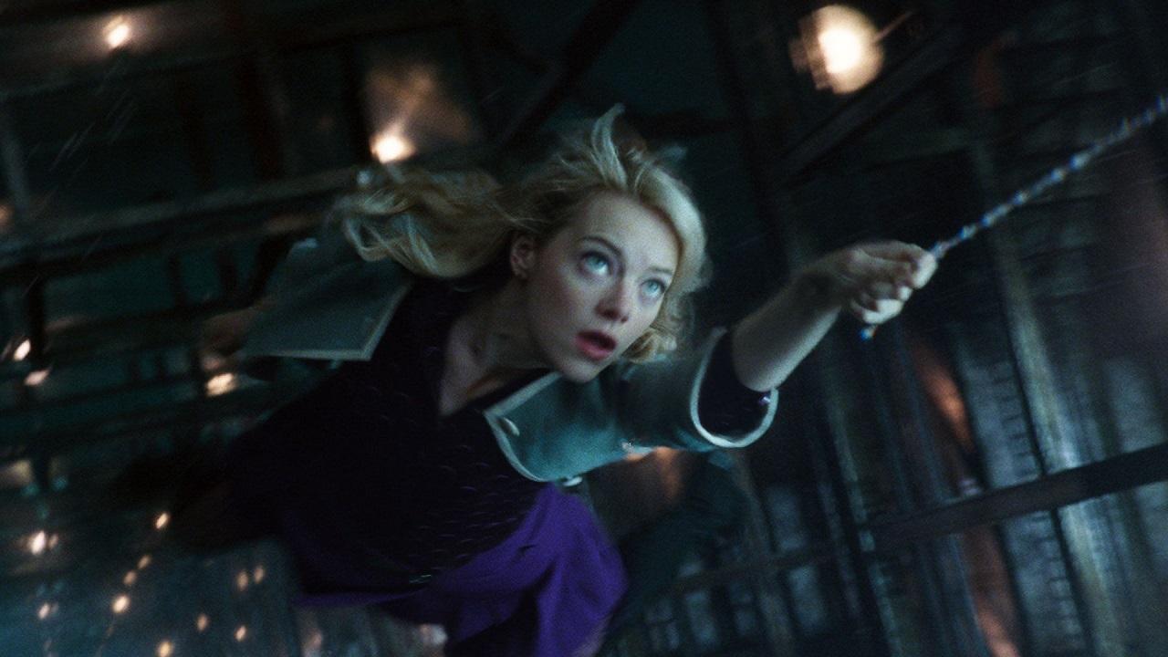 Emma Stone en Amazing Spider-Man