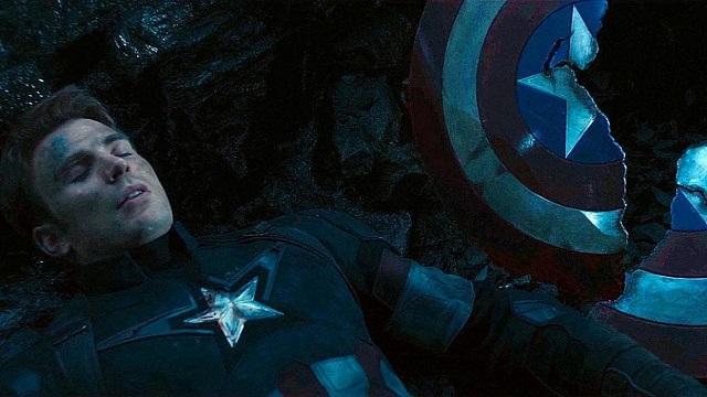 Escudo del Capitán América Roto