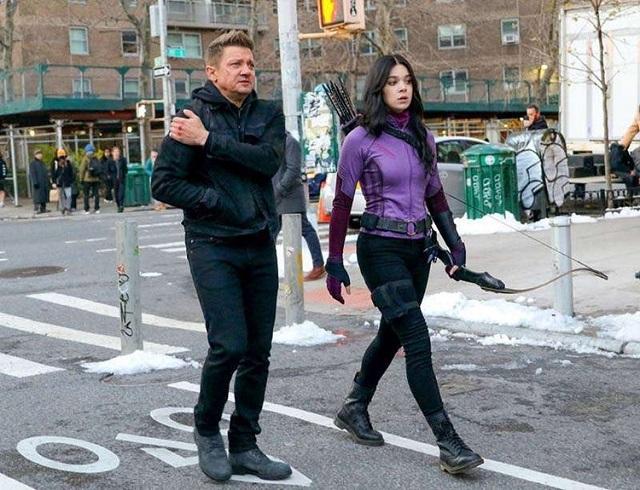 Hawkeye y Kate Bishop