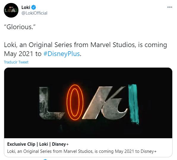 Disney presentó el tráiler de Loki