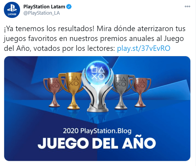 PlayStation da a conocer sus mejores juegos del año