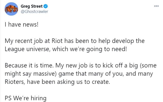 Riot Games confirma MMO de League of Legens