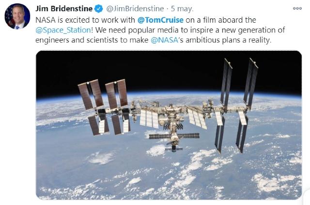 Rusia se adelanta a Tom Cruise para rodar en el espacio