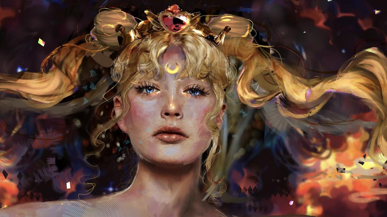 Sailor Moon_ Fan convierte a la princesa Neo Serenity en toda una obra de arte