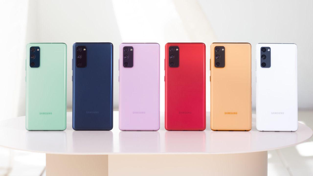 Colores del nuevo Samsung Galaxy S20 Fan Edition