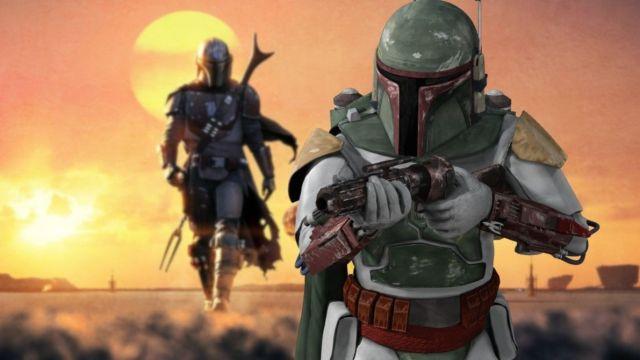 Star Wars Boba Fett en The Mandalorian