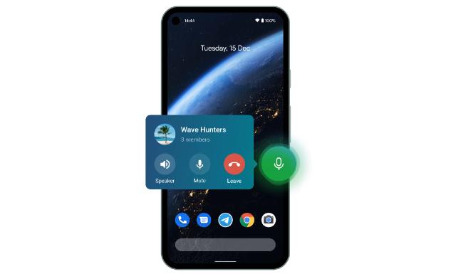 Telegram anuncia la nueva función de Voice Chat