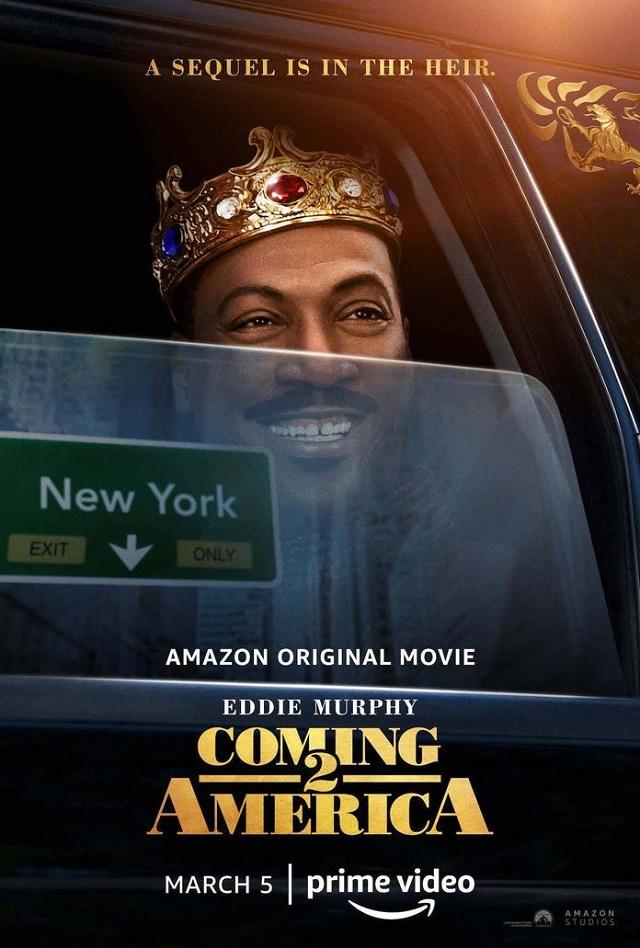 Póster de Un príncipe en Nueva York 2
