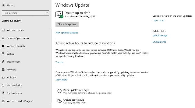 Windows 10 instalará actualizaciones obligatorias