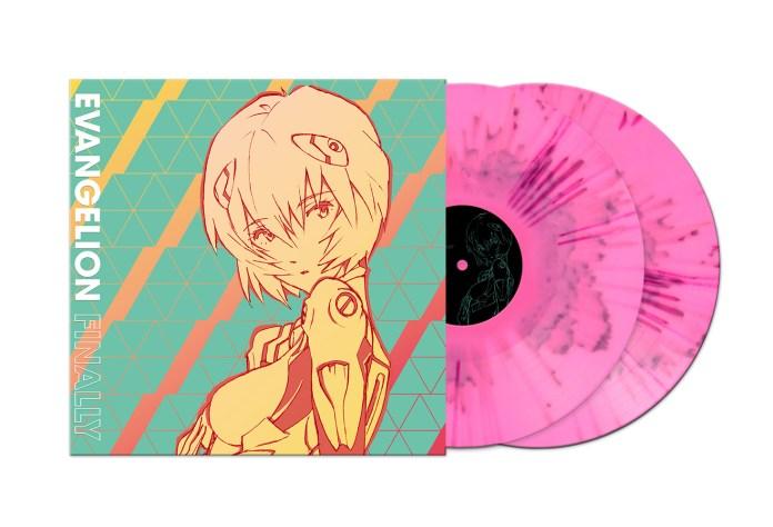 evangelion vinyl soundtrack