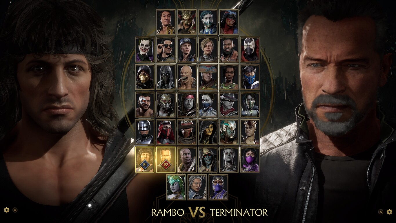 rambo vs terminator mortal kombat