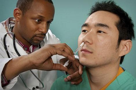 vacuna inhalada