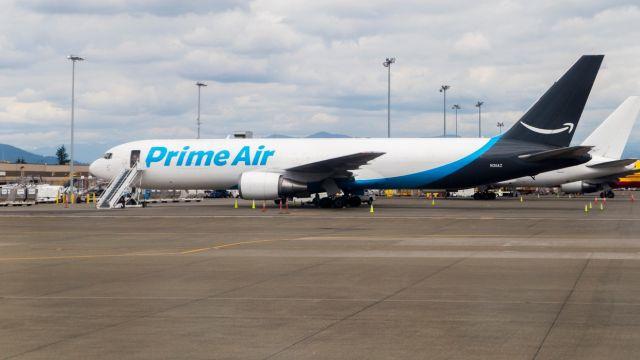 Amazon adquiere 11 aviones Boeing 767-300