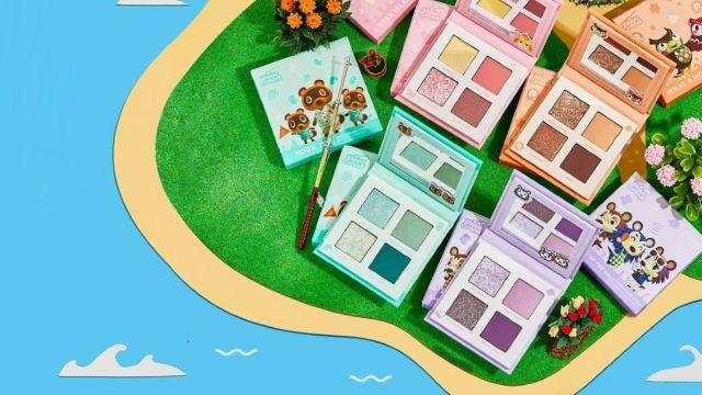 Animal Crossing tiene su propia colaboración de maquillaje que todo fan debe tener