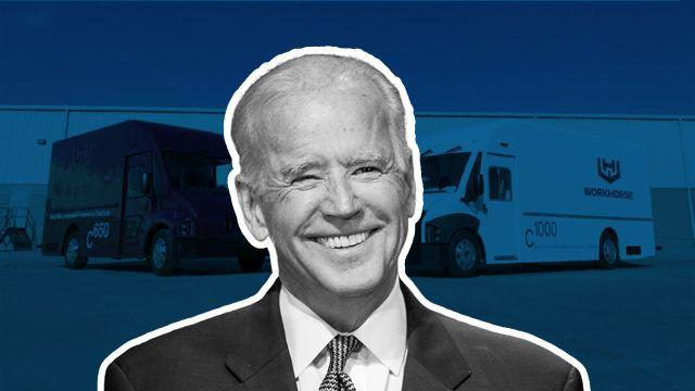 El presidente Biden ordenó que toda la flota de vehículos federales de Estados Unidos sea electrica.
