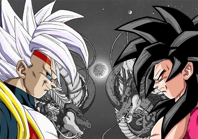Baby Vs Goku Dragon Ball GT