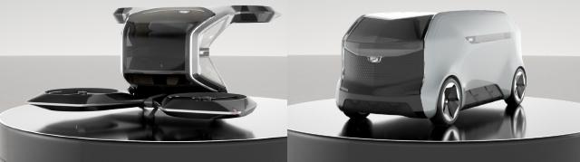 Cadillac sorprende con auto volador en el CES 2021