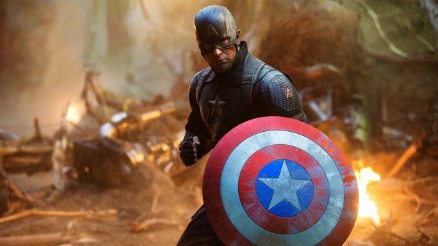Capitán América Avengers: Endgame